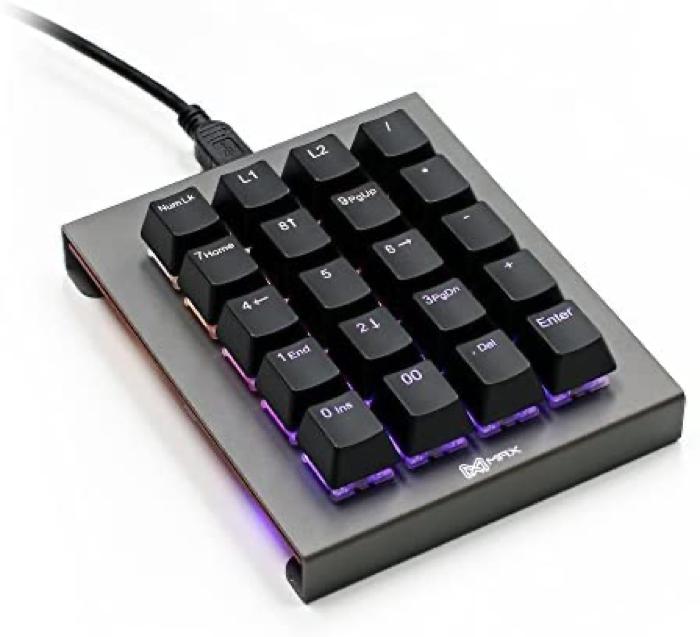 Max Keyboard Falcon-20 Programmable Macropad