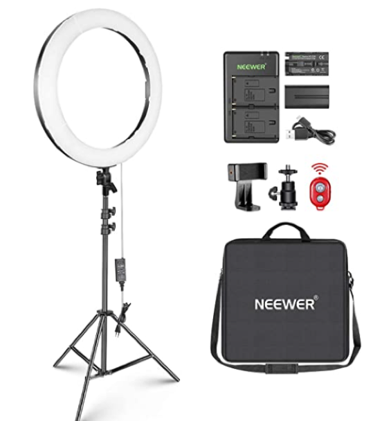 Neewer 20 Dimmable Ring Light
